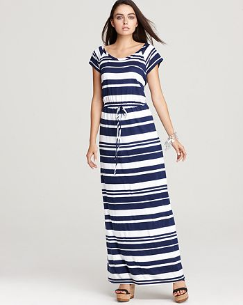 Splendid - Dress - Maritime Stripe Maxi