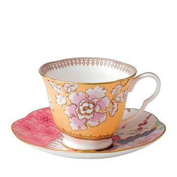 Wedgwood - Butterfly Bloom Floral Bouquet Cup & Saucer
