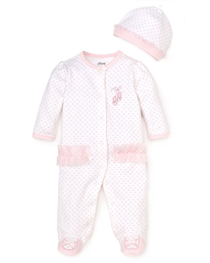 Little Me - Girls' Prima Ballerina Footie - Baby