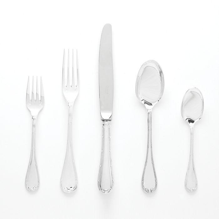 Christofle - Rubans Silverplate Flatware by Christofle