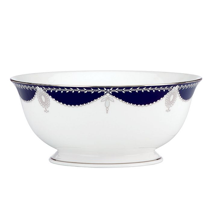 """Marchesa by Lenox - Empire Pearl Serving Bowl, 8.5"""""""
