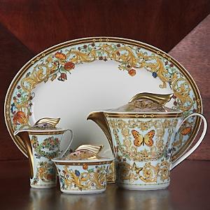 Rosenthal Meets Versace Butterfly Garden Sugar Bowl-Home
