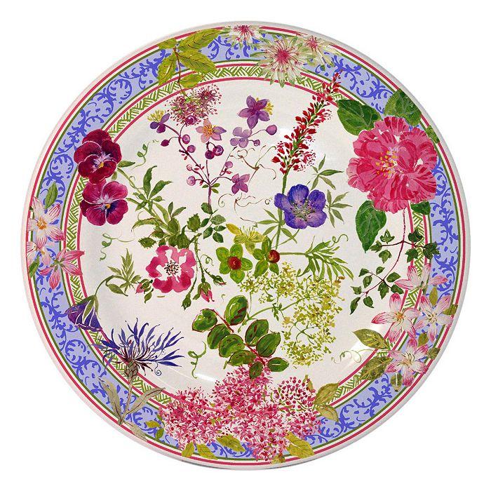 Gien France - Mille Fleur Dessert Plate
