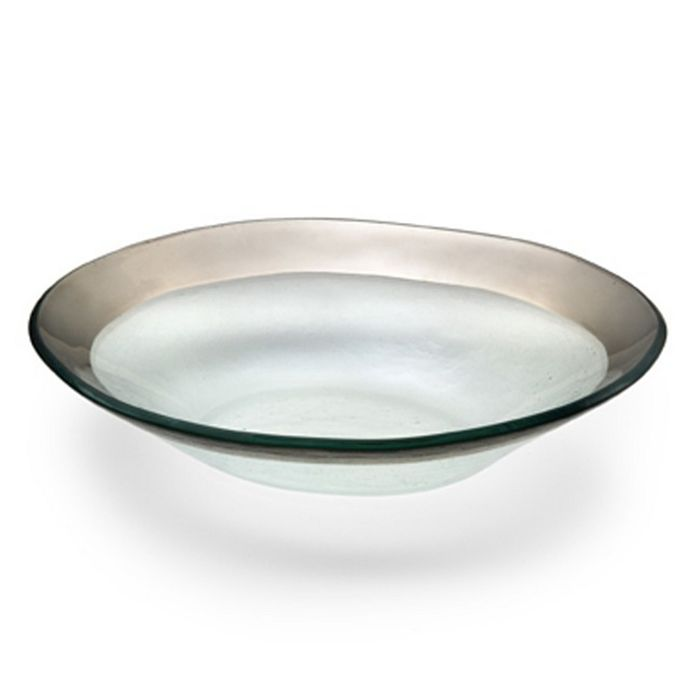 Annieglass - Roman Antique Oval Bowl