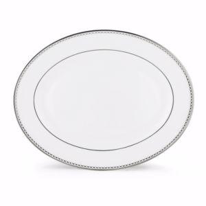 Lenox Pearl Platinum Oval Platter, 16
