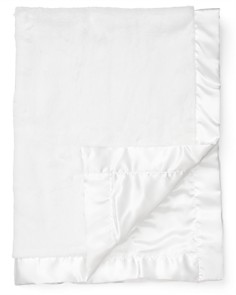 "Little Me Infant Unisex White Plush Blanket - 30"" x 40"" - Bloomingdale's_0"