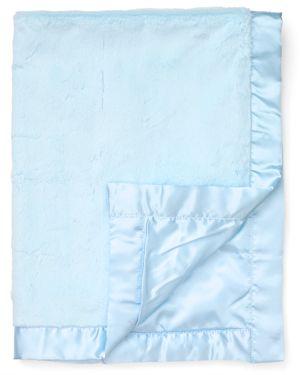 Little Me Infant Boys' Blue Plush Blanket