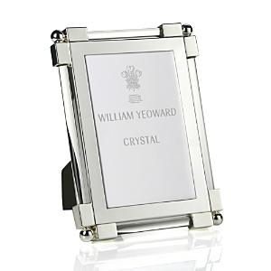 William Yeoward Classic Clear Glass Frame, 4 x 6