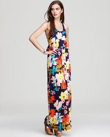 Ella Moss - Bluebell Peplum Maxi Dress