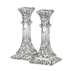"Waterford Lismore 8"" Candlestick, Set of 2 - Bloomingdale's Registry_0"