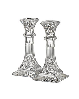 """Waterford - Lismore 8"""" Candlestick, Set of 2"""