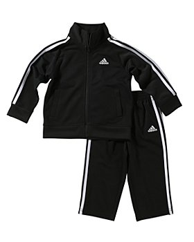 Adidas - Unisex Tricot Jacket & Pants Set - Little Kid