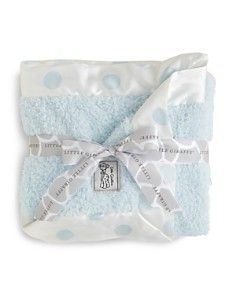 Little Giraffe - Infant Boys' Chenille Polkadot Blanket