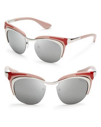 Prada - Women's Runway Cat Eye Sunglasses