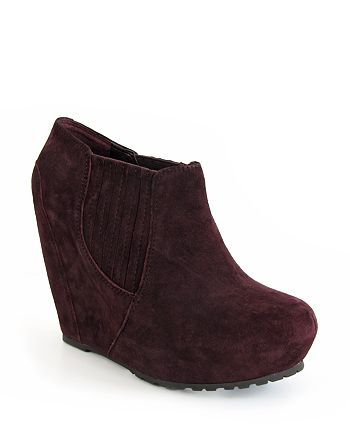 Luxury Rebel - Wedge Booties - Kera