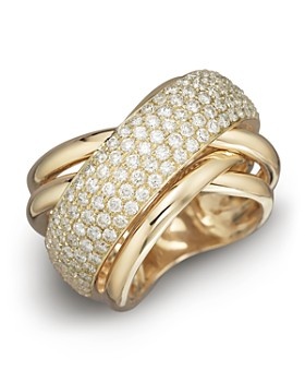 Bloomingdale's - Pavé Diamond Ring in 14K Yellow Gold, 2.25 ct. t.w.- 100% Exclusive
