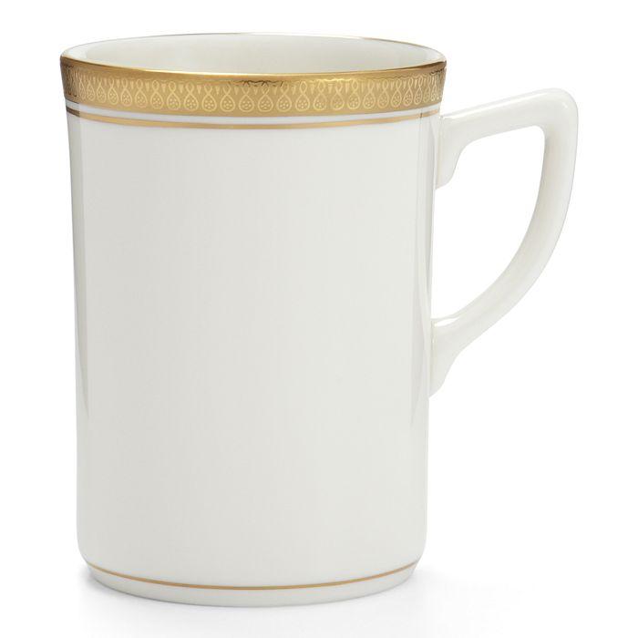 Pickard China - Palace White Metropolitan Mug