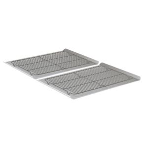 Calphalon Nonstick Four-Piece Cookie Sheet & Cooling Rack Set