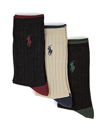 80b7fcc54 Ralph Lauren - Ralph Lauren Childrenswear Toddler Boys  Rib Dress Socks
