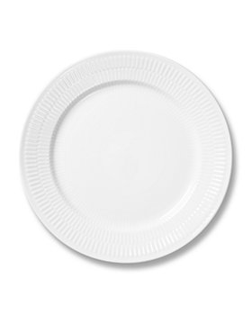 Royal Copenhagen - White Fluted Plain Dinnerware