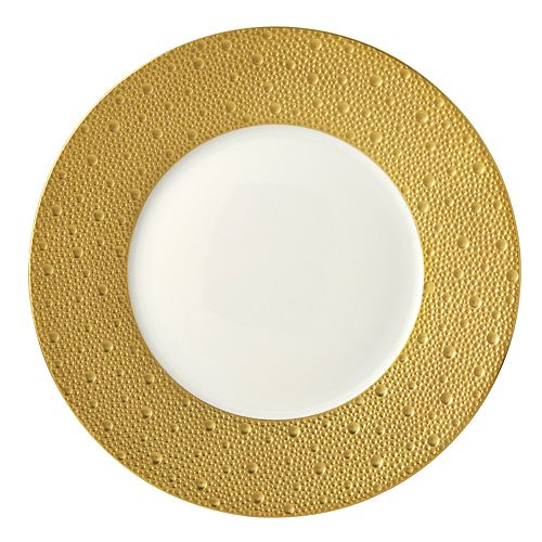 Bernardaud - Ecume Gold Dinner Plate