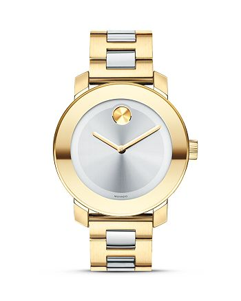 Movado - BOLD Silver Museum Dial Watch, 36mm