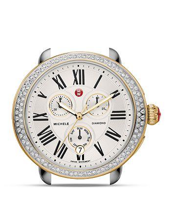 MICHELE - Serein Two-Tone Diamond Watch Head, 40 x 38mm