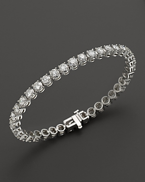 Certified Diamond Tennis Bracelet in 14K White Gold, 3.50 ct. t.w.