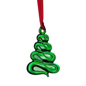 Orrefors Holly Days Christmas Tree Ornament