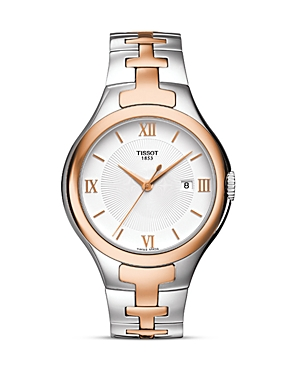 Tissot T12 Women's Silver Quartz Trend Watch, 41.5mm