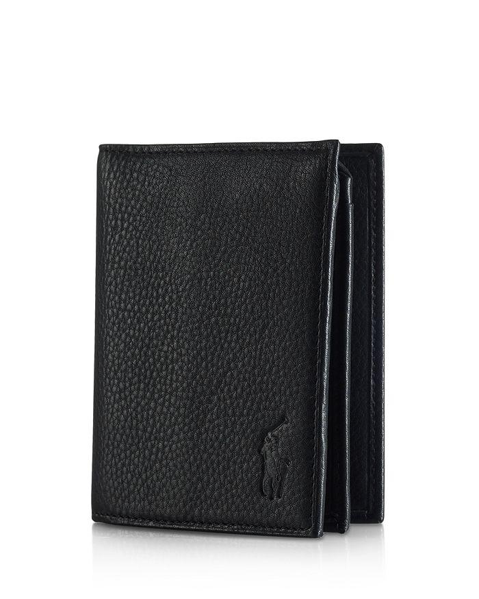 Polo Ralph Lauren - Pebbled Leather Window Billfold Wallet