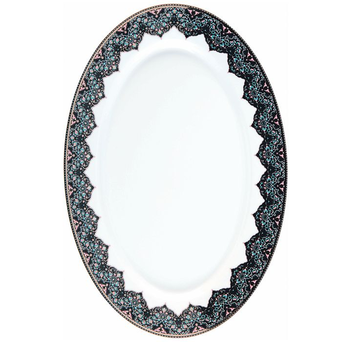 Philippe Deshoulieres - Dhara Peacock Oval Dish