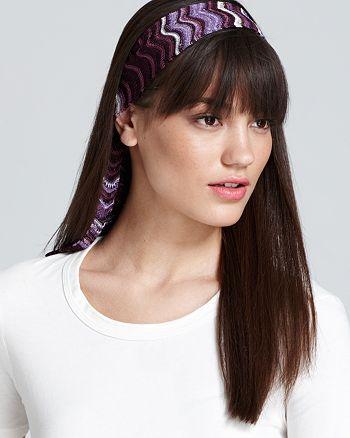 Missoni - Zig Zag Headband