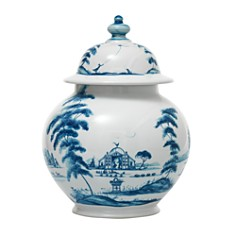 "Juliska - Country Estate Delft Blue 10"" Lidded Ginger Jar"