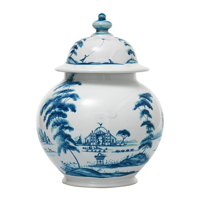 """Juliska - Country Estate Delft Blue 10"""" Lidded Ginger Jar"""