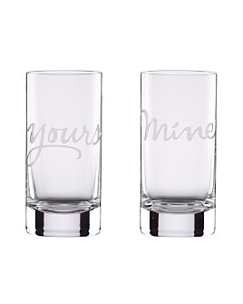 kate spade new york - Two of a Kind Mine & Yours Highball Glasses, Set of 2