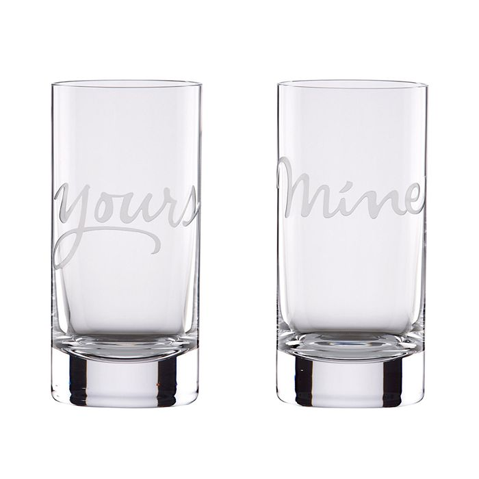 kate spade new york - Two Of A Kind Mine & Yours Barware Collection