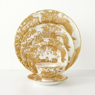 """""""Gold Aves"""" Tea Cup"""
