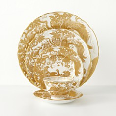 "Royal Crown Derby - ""Gold Aves"""