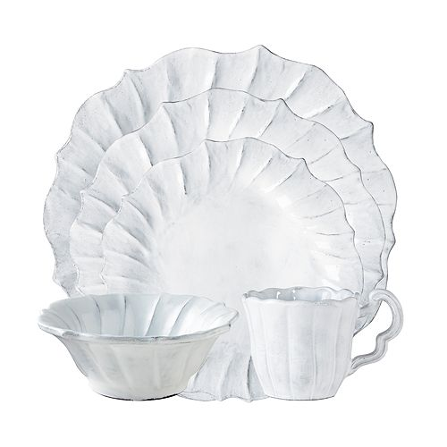 VIETRI - Incanto Ruffle Dinnerware
