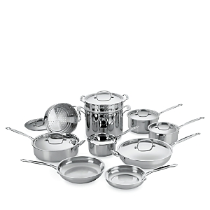 Cuisinart 17-Piece Stainless Steel Cooking Set