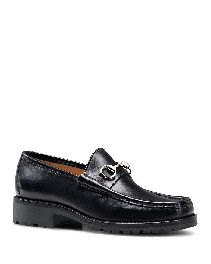 Gucci - Men's Horsebit Loafers in Leather