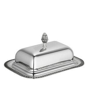 Christofle Malmaison Butter Dish