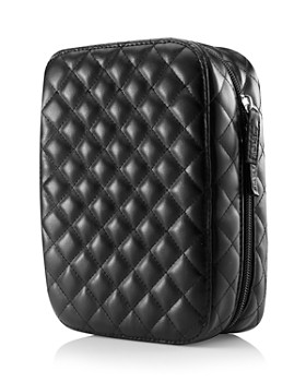 Trish McEvoy - Deluxe Makeup Planner®, Classic Black Quilted Mini