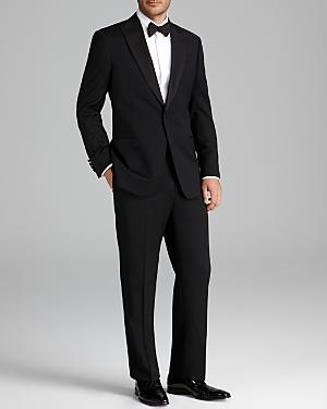 Armani Collezioni Giorgio Peak Lapel Tuxedo Suit - Classic Fit