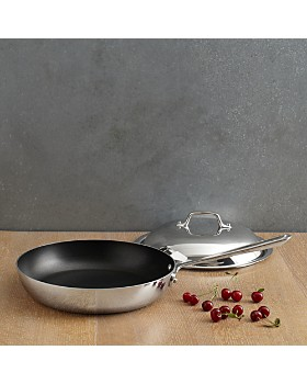 All-Clad - Stainless Steel Nonstick French Skillets