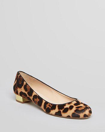 e18a6689f886 STEVEN BY STEVE MADDEN Ballet Flats - Paigge Leopard Print ...