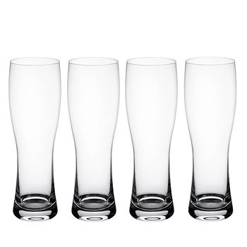 Villeroy & Boch - Purismo Wheat Beer Pilsner Glass, Set of 4