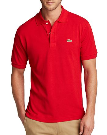 bdf4a18f0 Lacoste Short Sleeve Piqué Polo Shirt - Classic Fit | Bloomingdale's