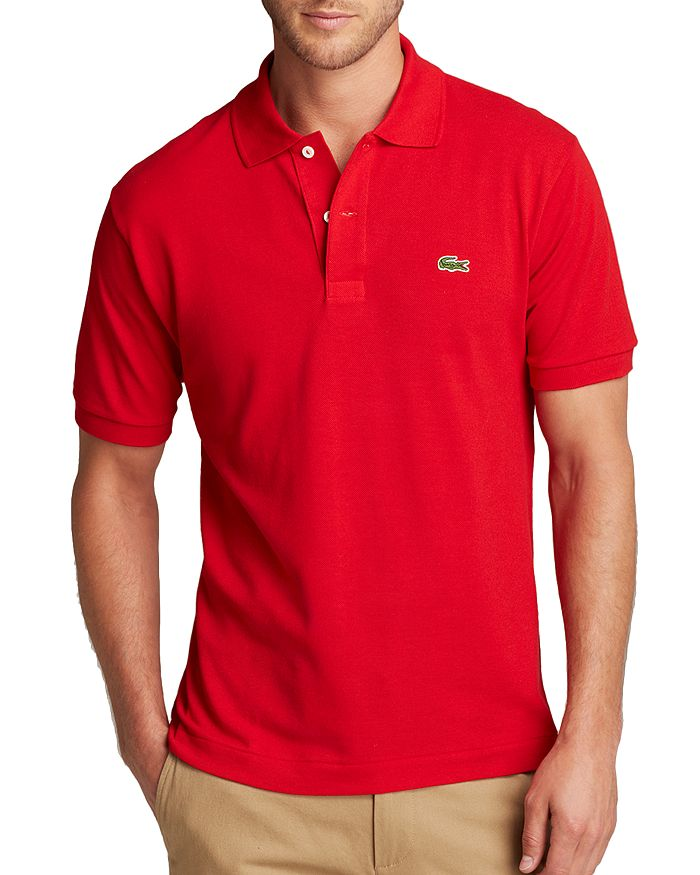 5ab1173226 Lacoste Short Sleeve Piqué Polo Shirt - Classic Fit | Bloomingdale's